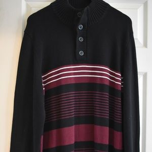 Red and Black Men's Sweater XXL